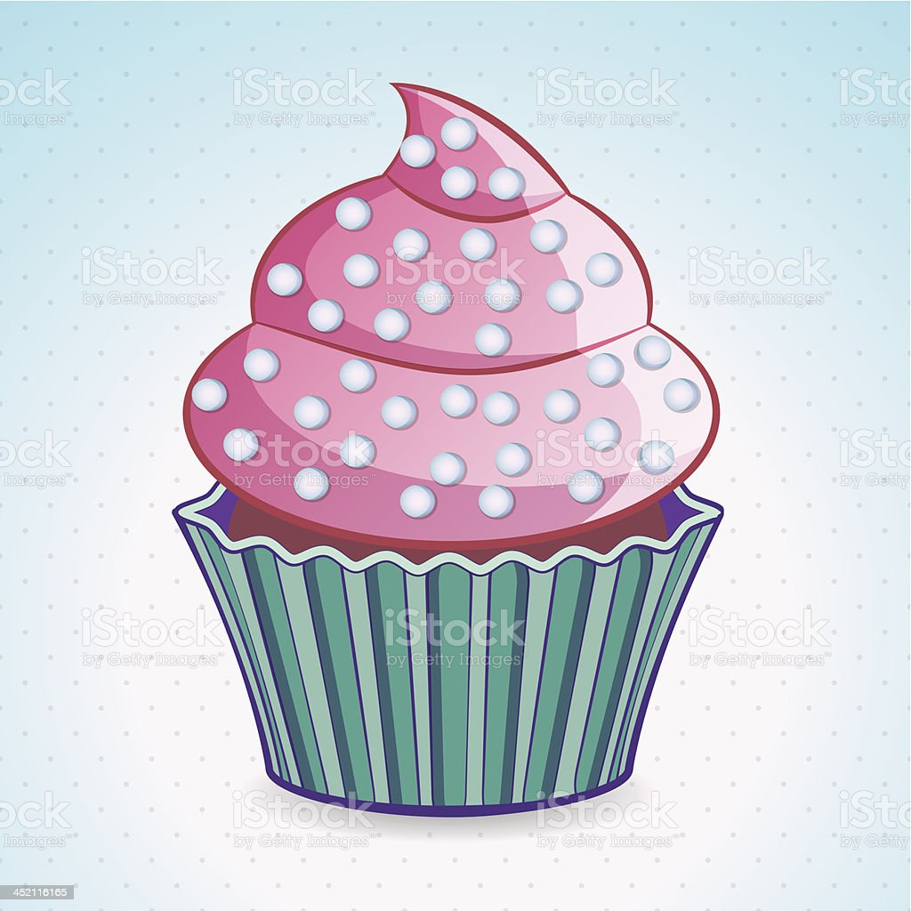 cupcake royalty-free cupcake stock vector art & more images of art