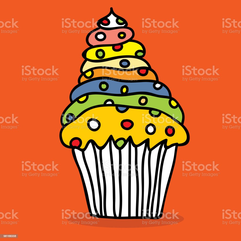 Cupcake royalty-free cupcake stock vector art & more images of bakery