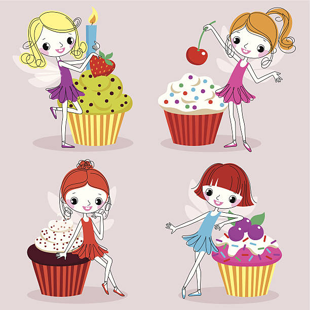 Royalty Free Red Velvet Cake Clip Art Vector Images