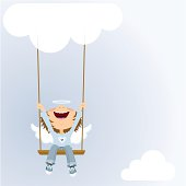 Boy on a swing. Please see some similar pictures in my lightboxs:
