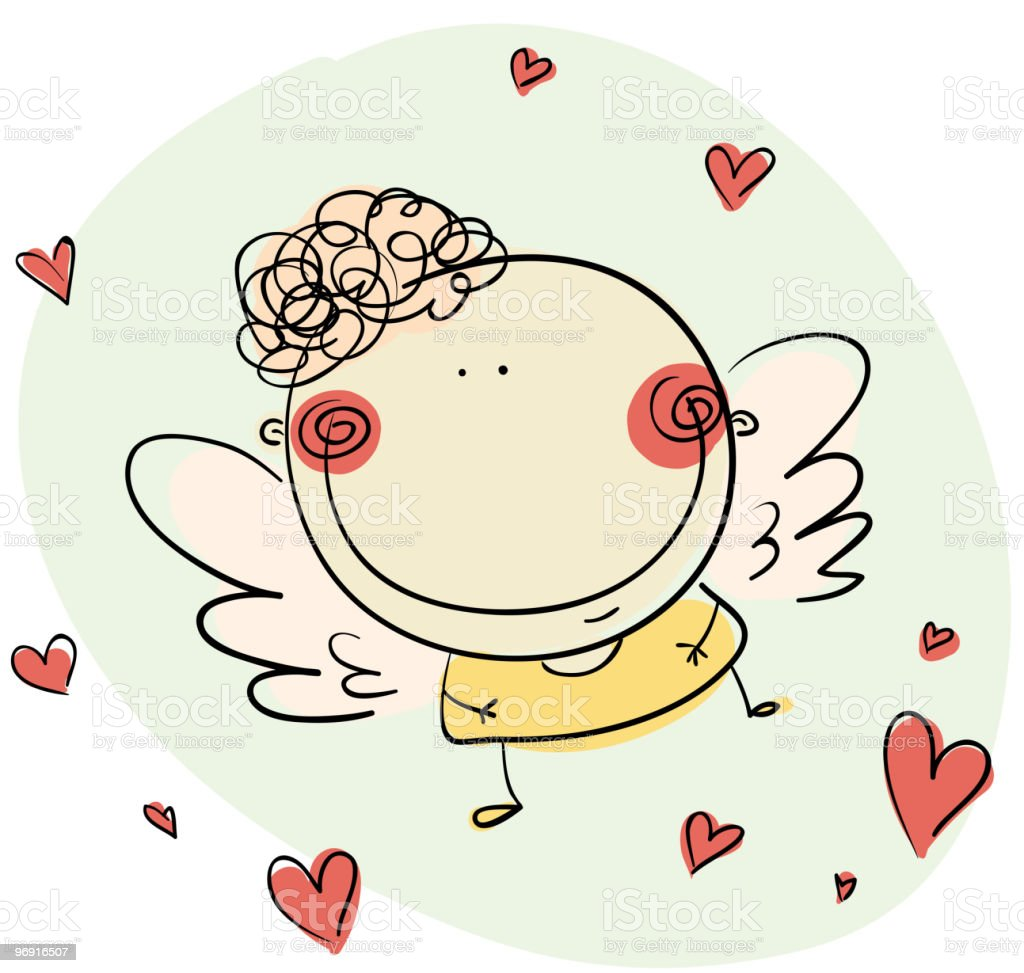 Cupid royalty-free cupid stock vector art & more images of angel