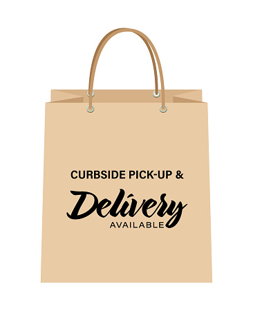 Curbside Pick-up And Delivery Bags
