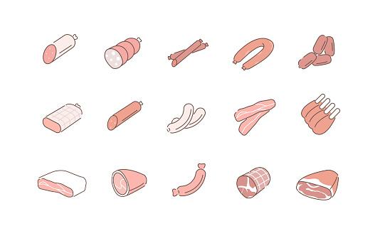 cured meat varieties