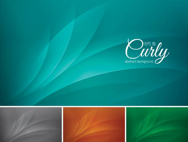 Curly abstract background curly abstract background. Suitable for your design element and web background tranquility stock illustrations
