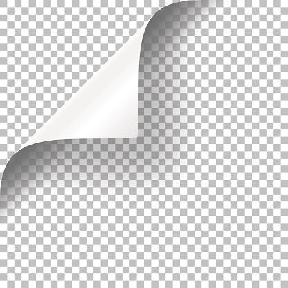 꼬불꼬불한 페이지 코너 가장자리에 대한 스톡 벡터 아트 및 기타 이미지