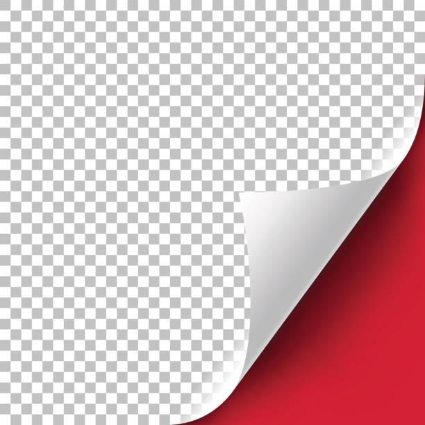 カーリーページコーナー - ページ点のイラスト素材/クリップアート素材/マンガ素材/アイコン素材