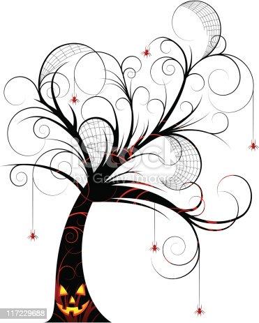 Halloween Tree Graphics Clip Art Free Download
