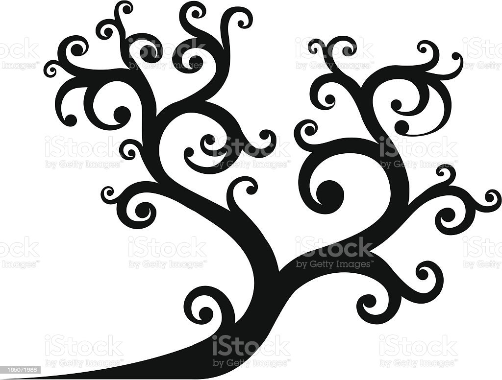 Curly Tree royalty-free curly tree stock vector art & more images of bizarre