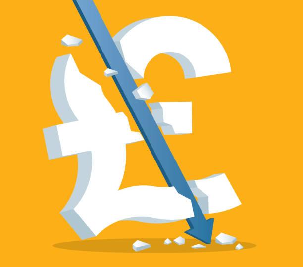 illustrations, cliparts, dessins animés et icônes de crise de la monnaie - signe dièse - inflation