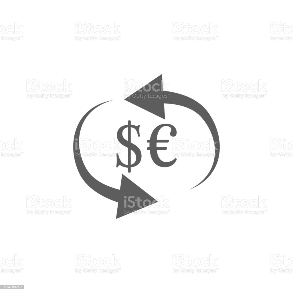 Currency Exchange Icon Element Of Finance And Business Icon Premium