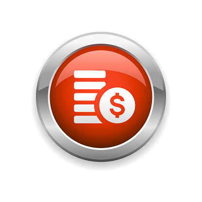 Currency Finance Glossy Icon