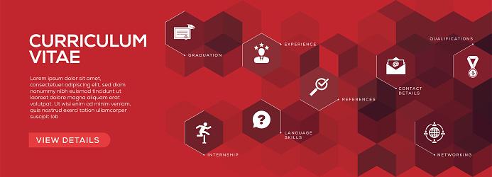 Curriculum Vitae Banner Design