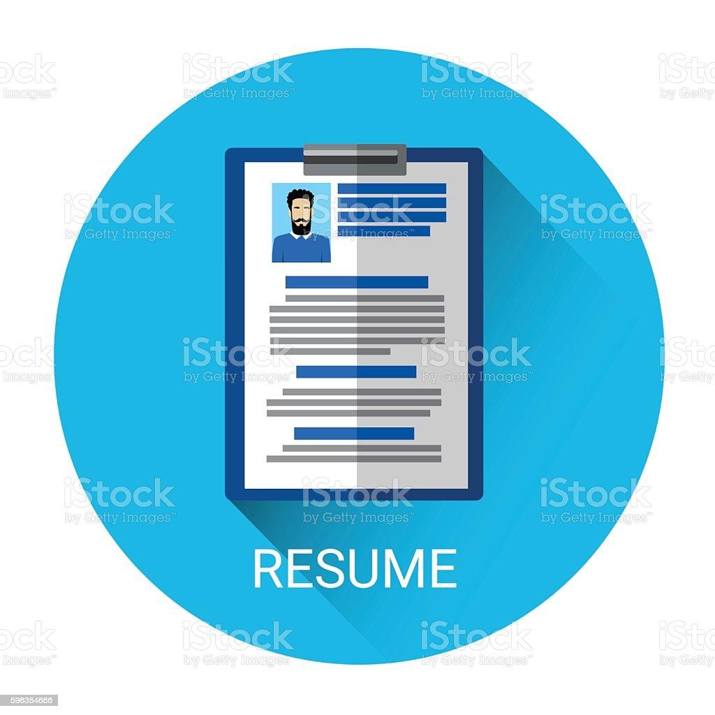 Curriculum Vitae Recruitment Candidate Document royalty-free curriculum vitae recruitment candidate document stock vector art & more images of business