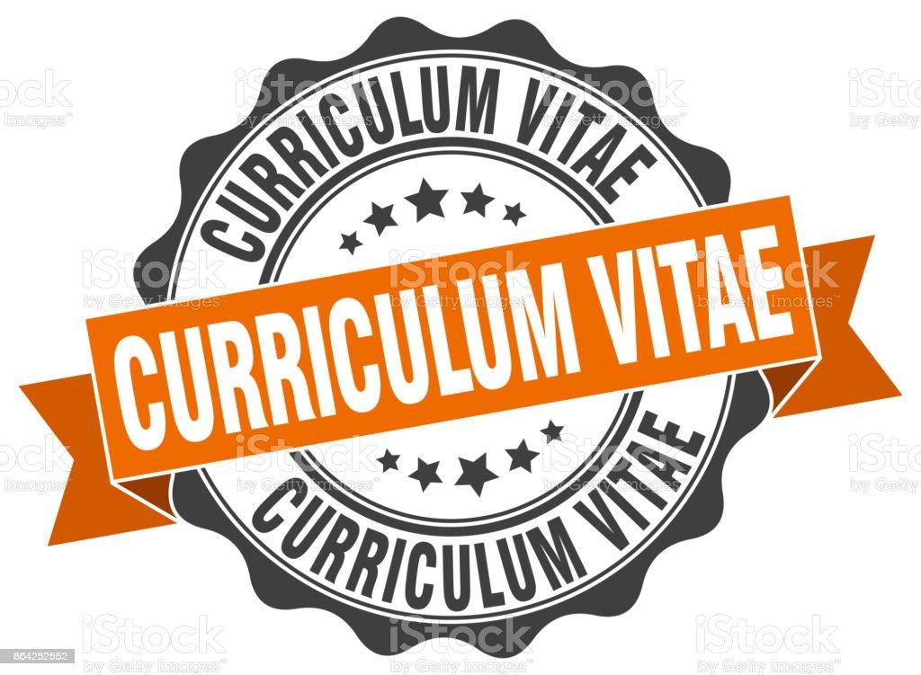 curriculum vitae stamp. sign. seal royalty-free curriculum vitae stamp sign seal stock vector art & more images of award ribbon