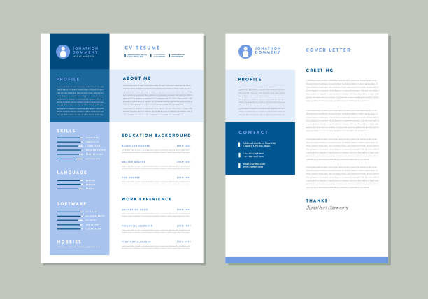 Curriculum vitaeCV Resume Template Design Curriculum vitaeCV Resume Template Design. This can be used for any type of business Person or any newbies who want to get a job. You can also use it personally. This template is designed by Adobe Illustrator and easily editable from version(10.0 to Higher) . You can easily use your own logo and color also. Thanks and enjoy this. business cv templates stock illustrations