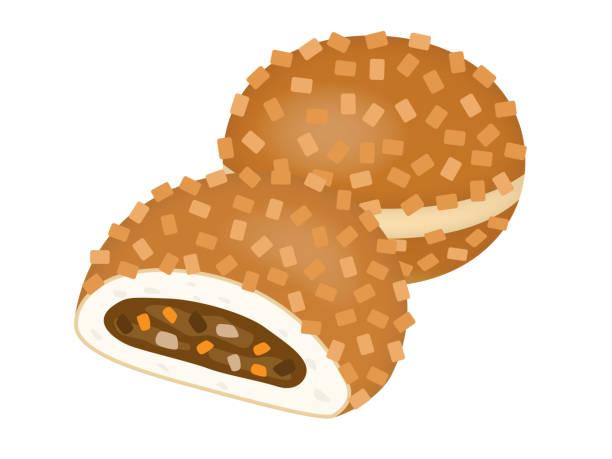 カレーのパン - カレー点のイラスト素材/クリップアート素材/マンガ素材/アイコン素材