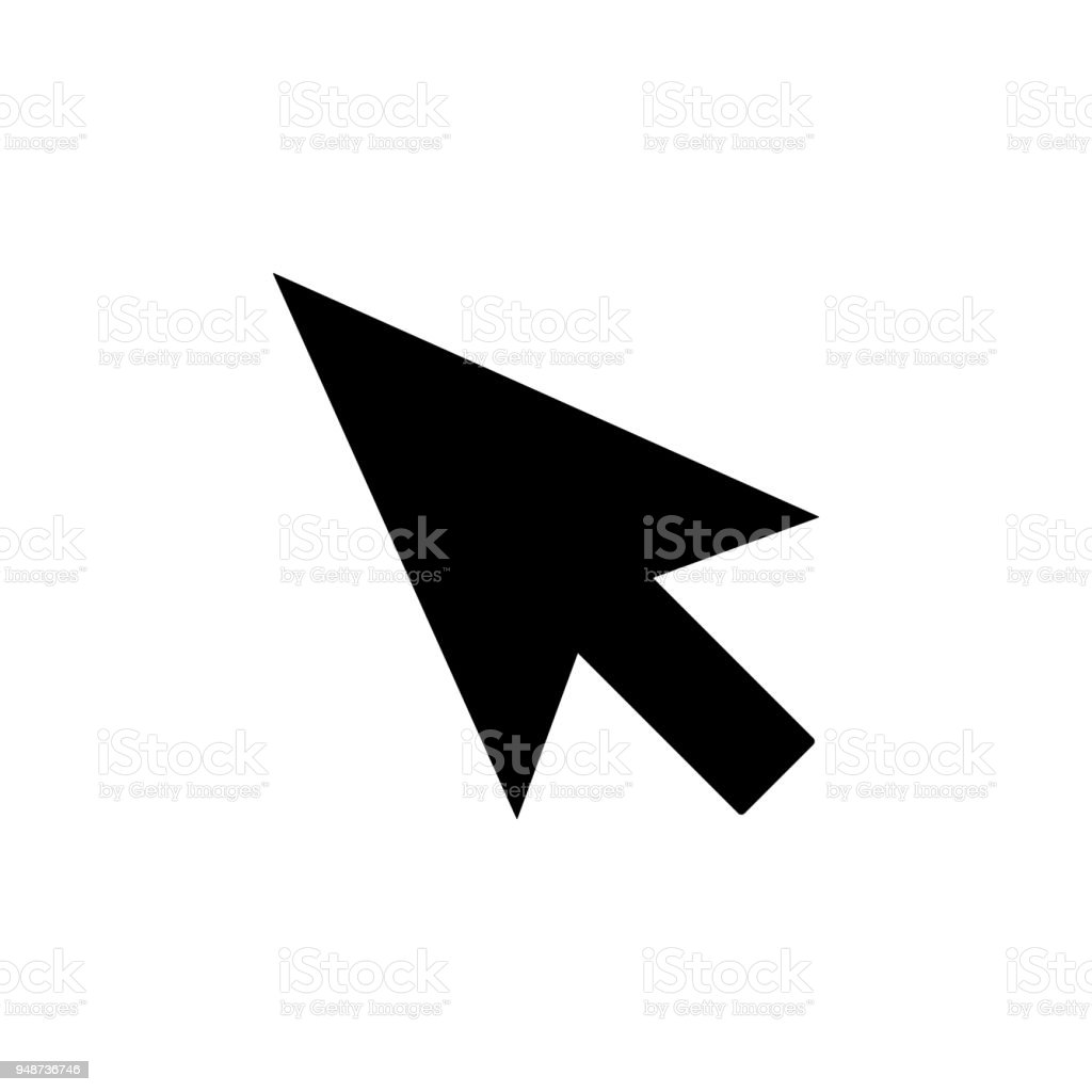 Cursor Icon Element Of Minimalistic Icon For Mobile Concept And Web