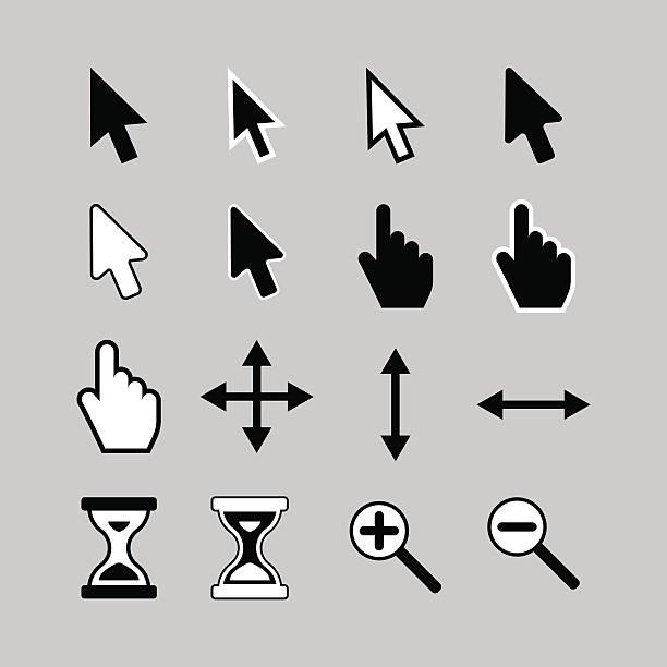 cursor icons. - 游標 幅插畫檔、美工圖案、卡通及圖標