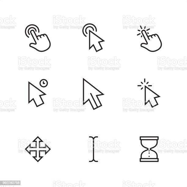 Cursor pixel perfect outline icons vector id992280758?b=1&k=6&m=992280758&s=612x612&h=qqqa5gv9e j3yr7zk6qyphbwmz jcghdnl9c btmlim=