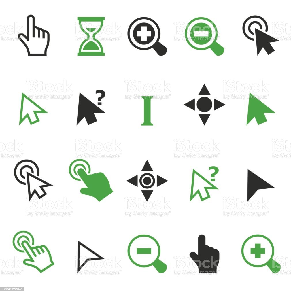 Cursor pointer icons