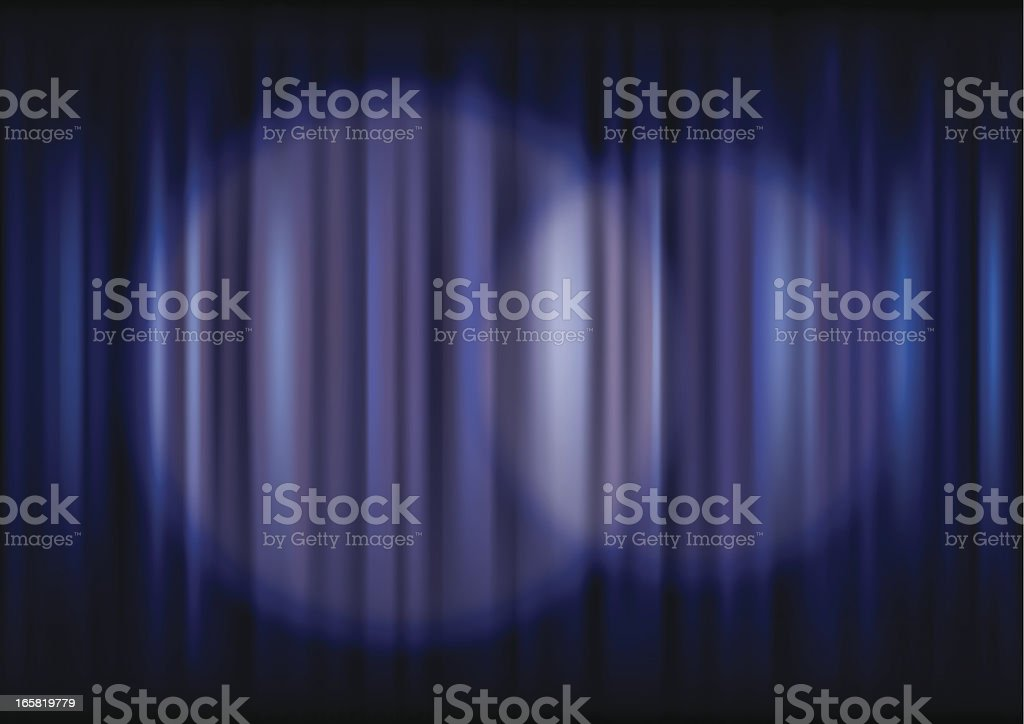 Curtain & Spotlight royalty-free curtain spotlight stock vector art & more images of arts culture and entertainment