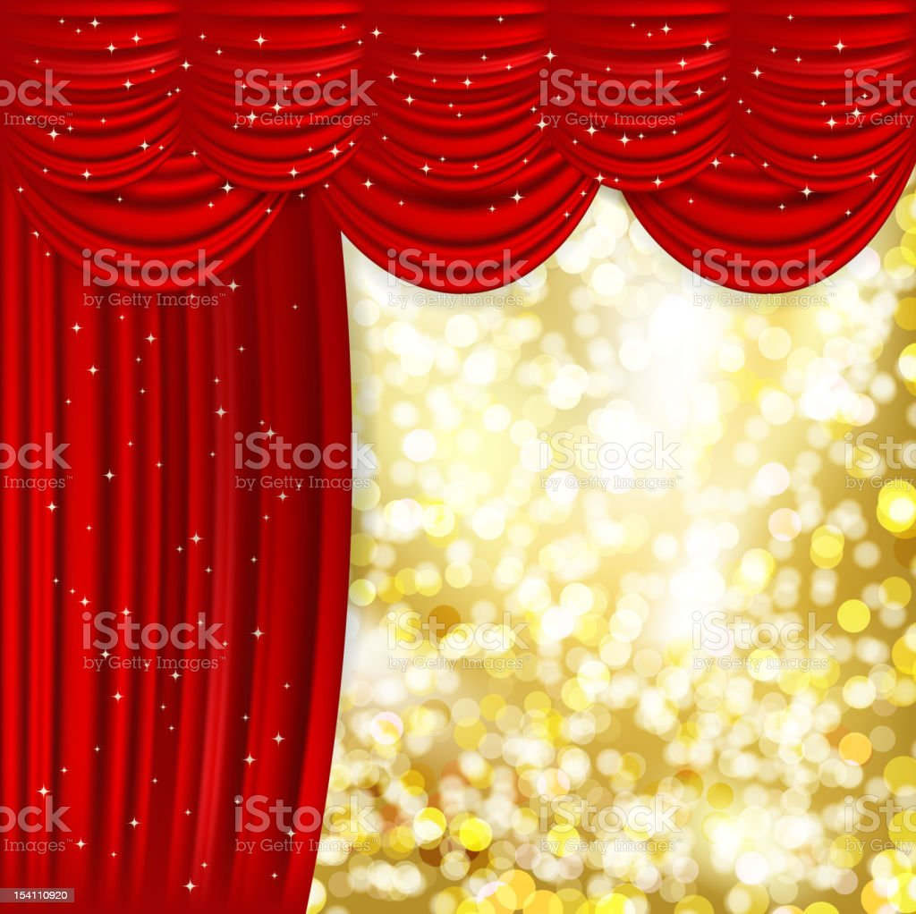 Curtain royalty-free curtain stock vector art & more images of abstract