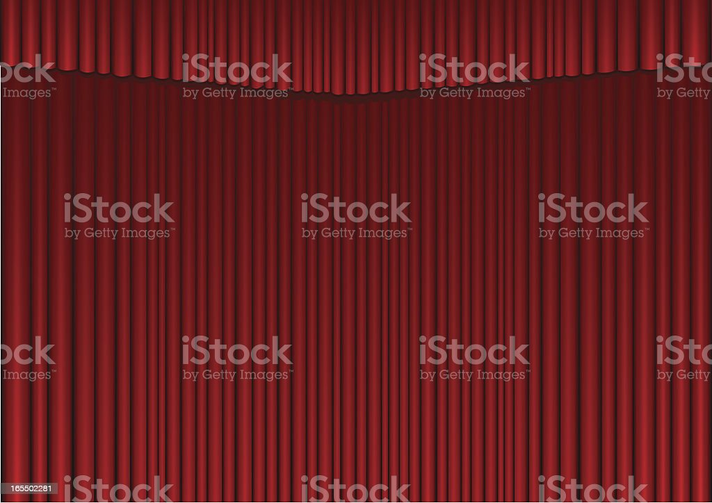 Curtains royalty-free curtains stock vector art & more images of abstract