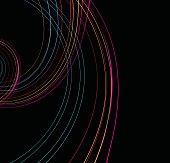 curve line pattern background
