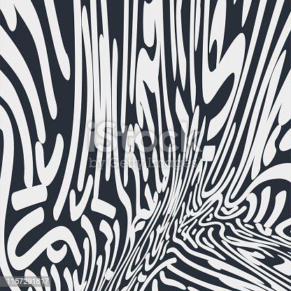 curve stripe doodle pattern texture background