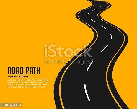 istock curve winding roadway background design 1154564110