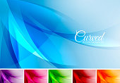 Curved abstract background series. Applicable for web background, design element ,wall poster, landing page, wallpaper, and social media element