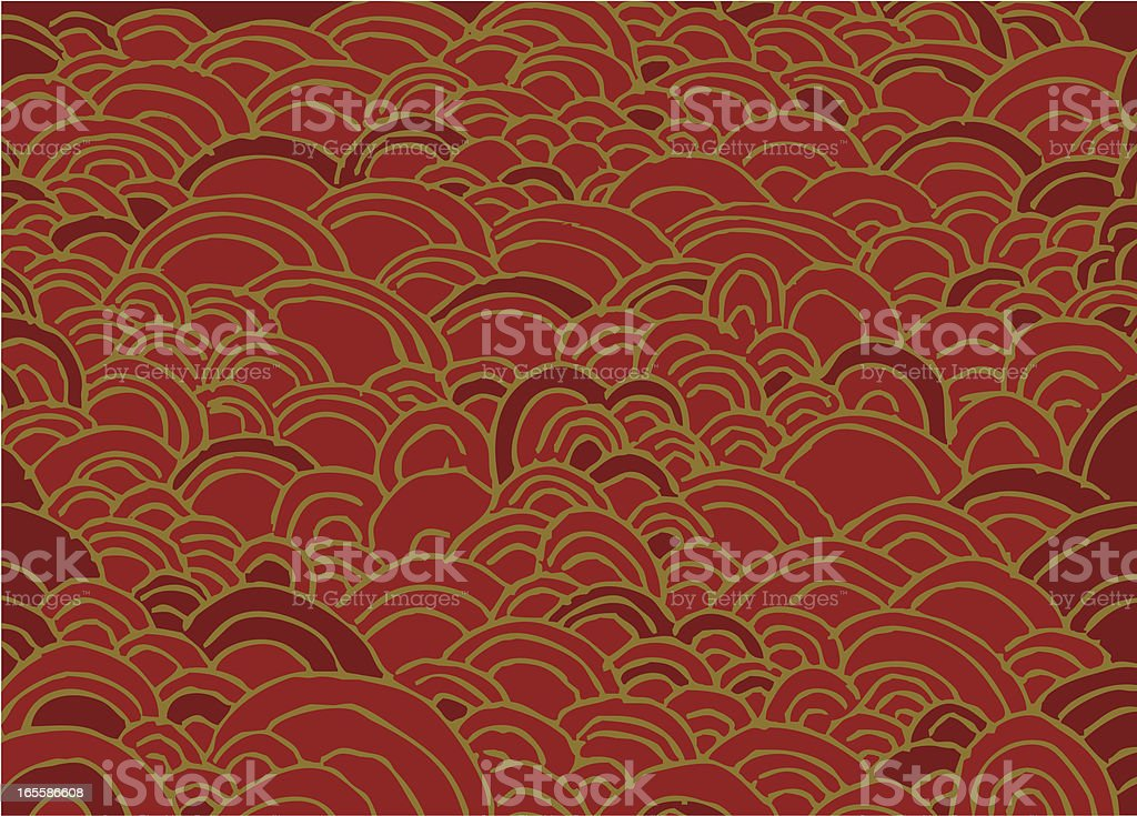 curves pattern royalty-free stock vector art
