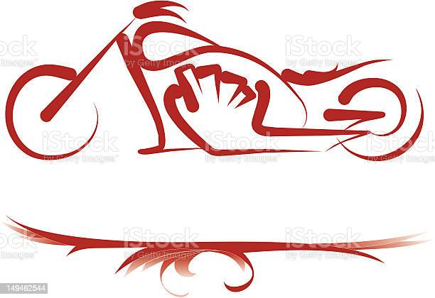 Custom Bike Stock Illustration - Download Image Now