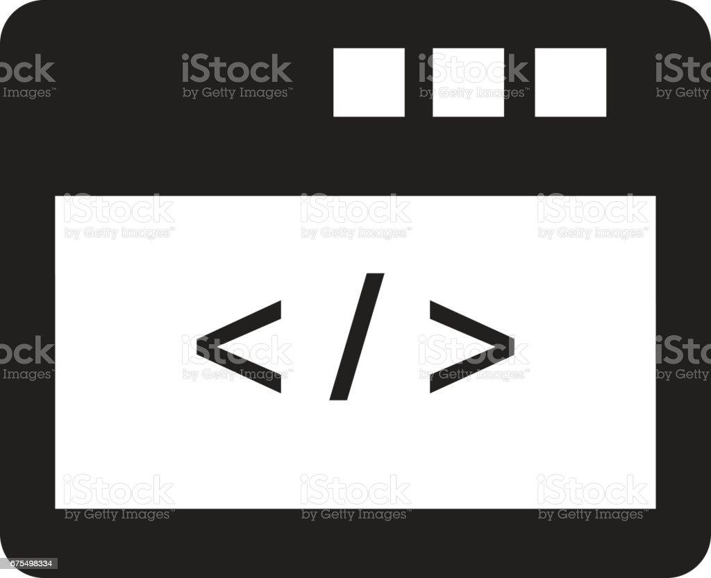 Özel simge kodlama royalty-free Özel simge kodlama stok vektör sanatı & anahtar'nin daha fazla görseli