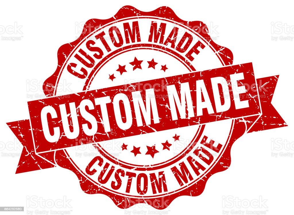 custom made stamp. sign. seal royalty-free custom made stamp sign seal stock vector art & more images of award ribbon