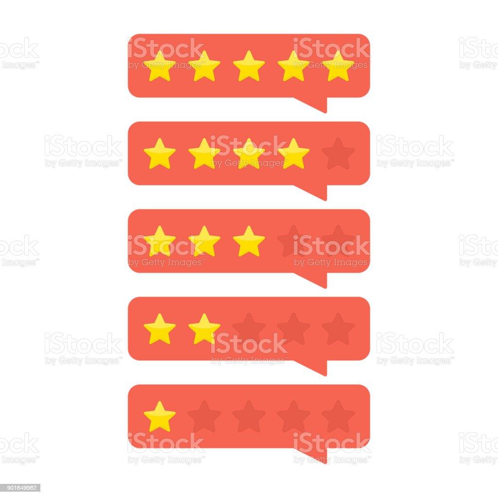 Customer feedback concept. royalty-free customer feedback concept stock illustration - download image now