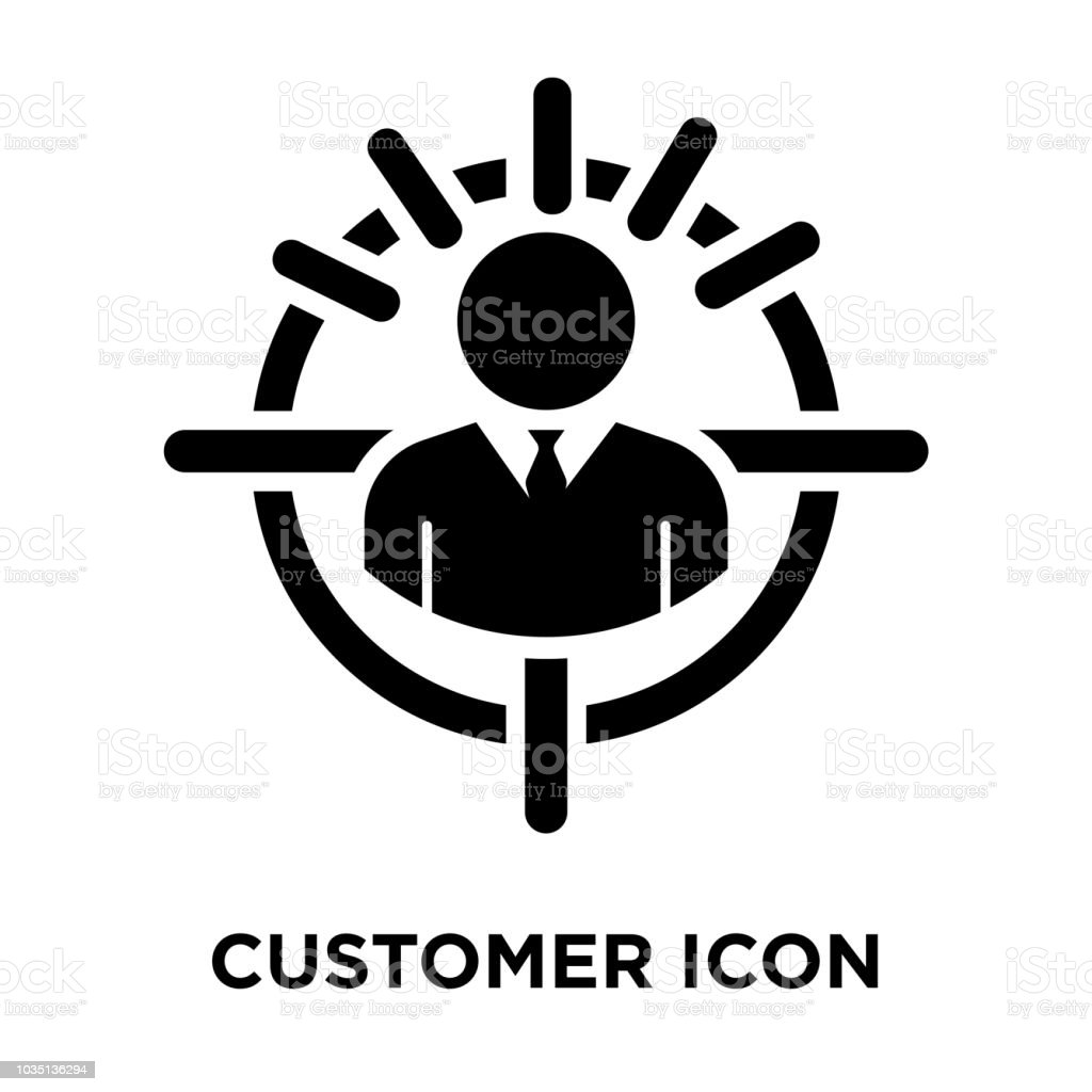 Customer Icon Vector Isolated On White Background Logo Concept Of Customer Sign On Transparent Background Black Filled Symbol Stock Illustration Download Image Now Istock Flat icons, material icons, glyph icons, ios icons, font icons, and more design styles. https www istockphoto com vector customer icon vector isolated on white background logo concept of customer sign on gm1035136294 277138662