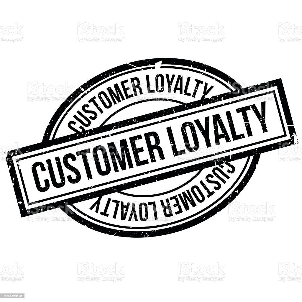 Customer Loyalty Rubber Stamp Lizenzfreies Stock Vektor Art Und Mehr Bilder Von