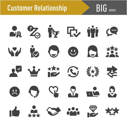 Customer Relationship Icons - Big Series