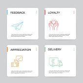 Customer Relationship Infographic Design Template