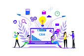 istock CRM - Customer relationship management 1201847037
