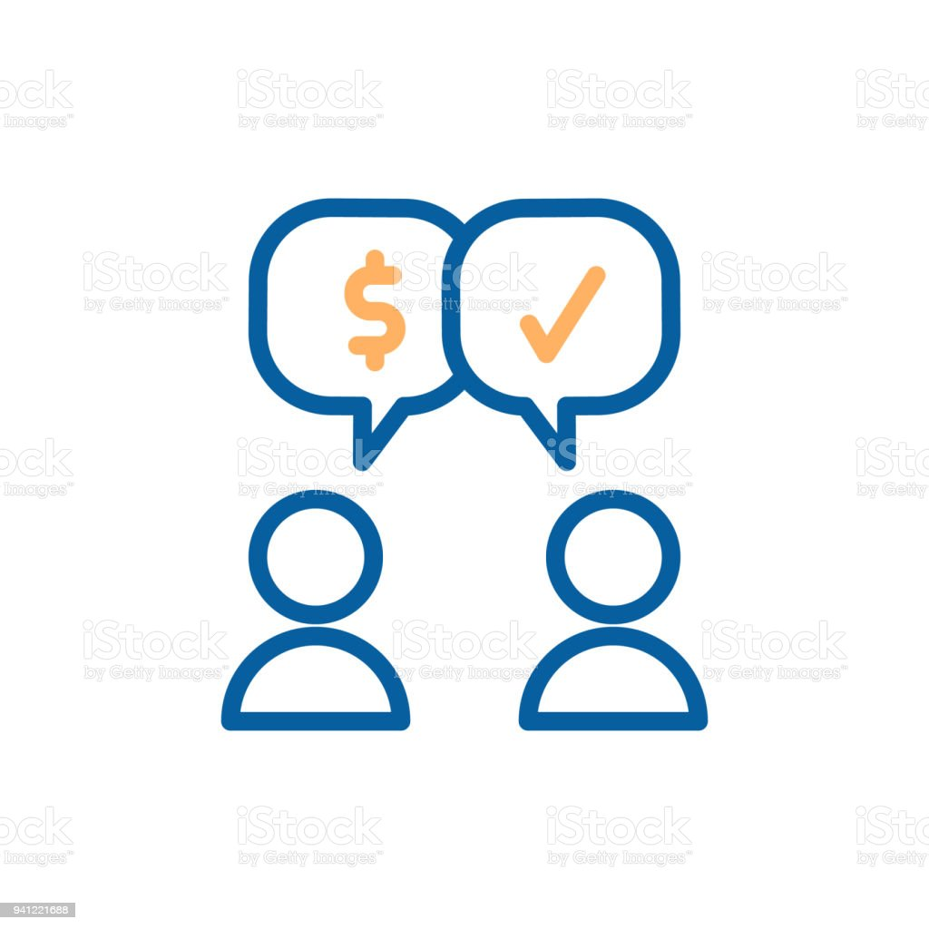 Interaktion Mit Dem Kunden Verkäufer Geschlossene Abkommen ...