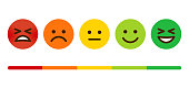 istock Customer Satisfaction Survey Emoticons 1161040201