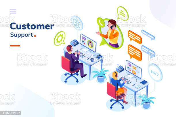 Customer service phone support office with people vector id1137922127?b=1&k=6&m=1137922127&s=612x612&h=m g93u8mlpdvft ebq1 vukutd6bedc4ke3oaouzbh8=