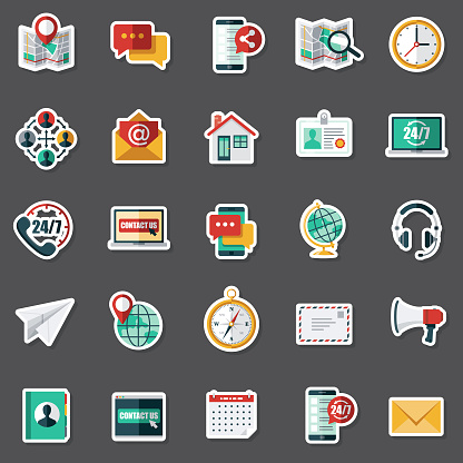 Customer Service Sticker Set