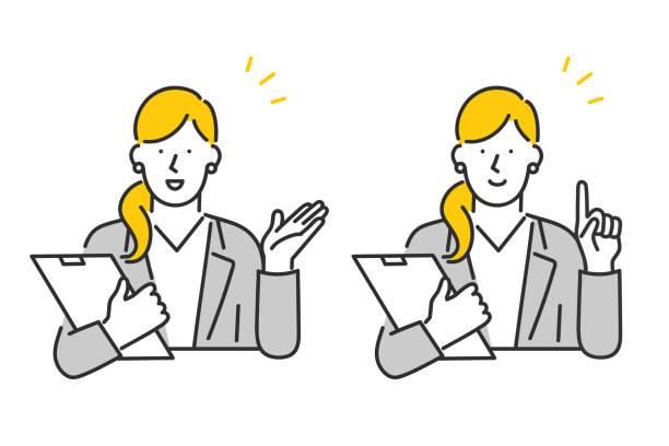 顧客サービス - ヒアリング点のイラスト素材/クリップアート素材/マンガ素材/アイコン素材