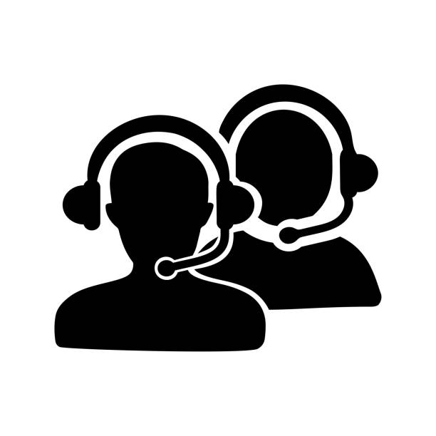 ilustrações de stock, clip art, desenhos animados e ícones de customer support icon - só adultos