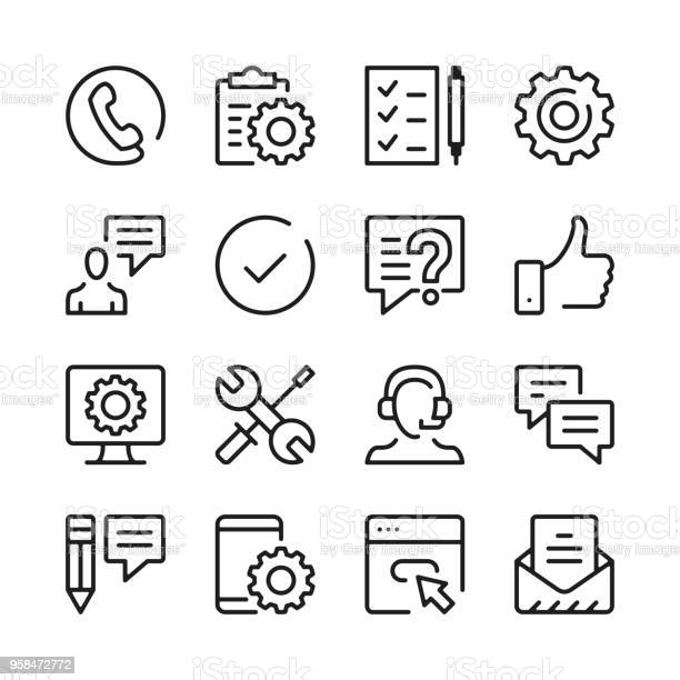 Customer support line icons set modern graphic design concepts simple vector id958472772?b=1&k=6&m=958472772&s=612x612&h=uofq4o  i4io mzuxvijqrinafikugkmr81uf8qjdpo=