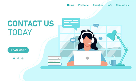 Customer support site