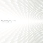 Customizable abstract white honeycomb-style background